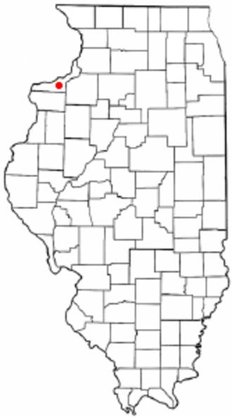 Oak Grove, Illinois - Location of Oak Grove, Illinois