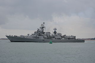 <i>Delhi</i>-class destroyer Indian class of warships