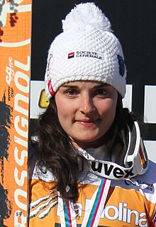 Marie Bochet French para-alpine skier