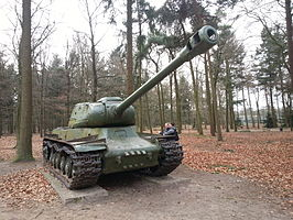 IS-2 in Oorlogsmuseum Overloon, Nederland.