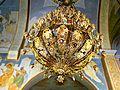ISRAEL, Nazareth, Greek Orthodox Church of the Annunciation; (Chandelier).JPG