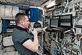 ISS-57 Sergey Prokopyev works in the Columbus module (2).jpg