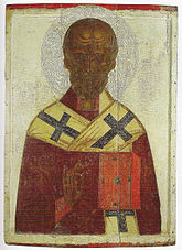 Icon of Saint Nicolas from Constantine and Helena Church, Vologda.jpg