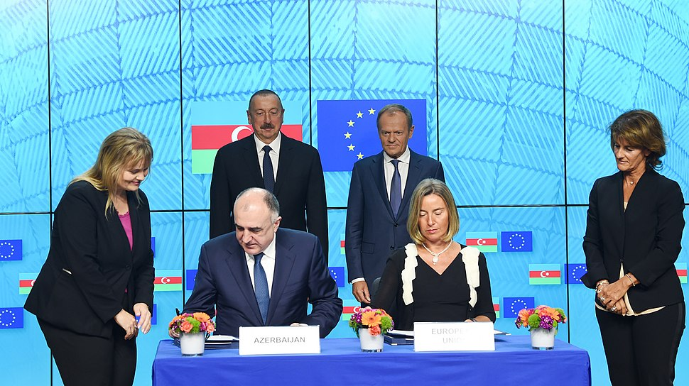 Ilham Aliyev met with President of European Council in Brussels 7