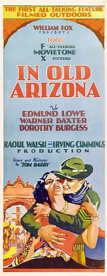 Description de l'image In Old Arizona poster.jpg.