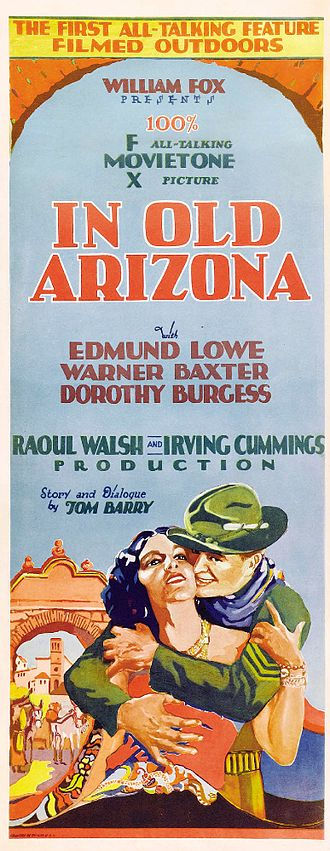 In Old Arizona - Theatrical release poster