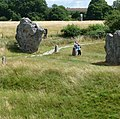 In the Late Mediaeval and Early Modern periods, locals destroyed many of the standing stones. - panoramio.jpg
