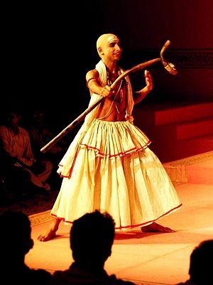Inaamulhaq - Inaamulhaq as Madhavye (Vidushak) in Kalidasa's Abhijñānaśākuntalam