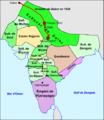 India - Division de la peninsula indiana vèrs 1520.png
