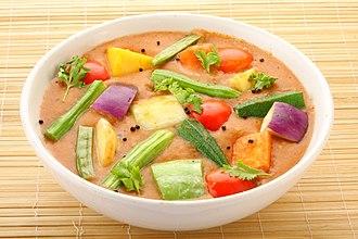 Sambar (dish) - Image: Indian Sambar