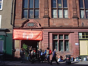 Independent Media Center - Temporary IMC in Edinburgh covering protests at the 2005 G8 summit