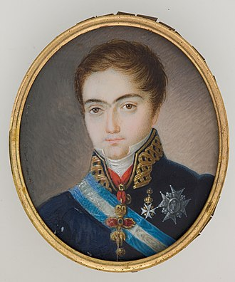 Infante Francisco de Paula, Duke of Cádiz - Infante Francisco de Paula in his teens