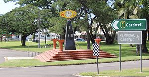 Ingham, Queensland - Clock at Rotary park