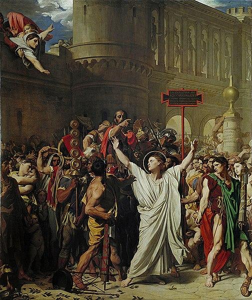 ファイル:Ingres Martyre Saint-Symphorien.jpg