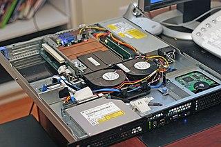 Web server Computer software that distributes web pages
