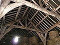Inside the Tudor barn at Gunthwaite Hall - geograph.org.uk - 935634.jpg