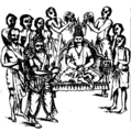 Installation of Bhanu Vicrama as King of Kerala.png