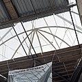 Interieur, overzicht glazen koepel van binnen uit gezien - Bolsward - 20397614 - RCE.jpg