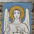 Interieur, wandschildering, detail van engel - Uden - 20356351 - RCE.jpg