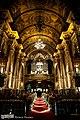 Interior da Igreja de São Francisco de Paula, Rio de Janeiro - Nave, vista para o coro alto (6).jpg