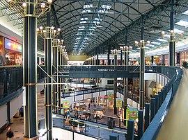 Interior del Mall of America.