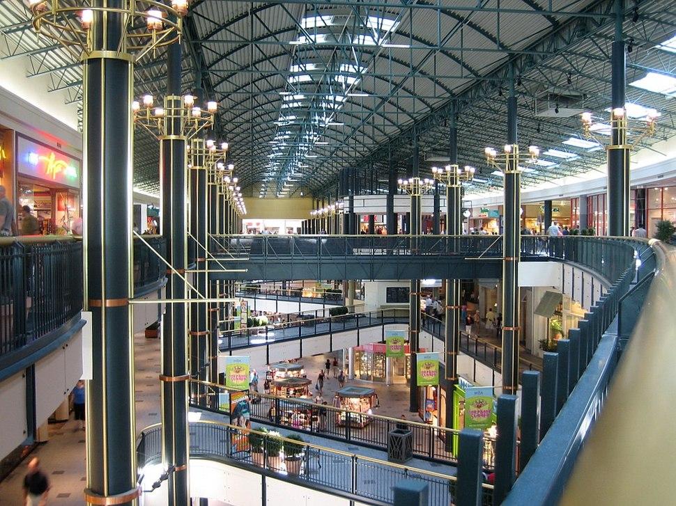 Interior mall of america