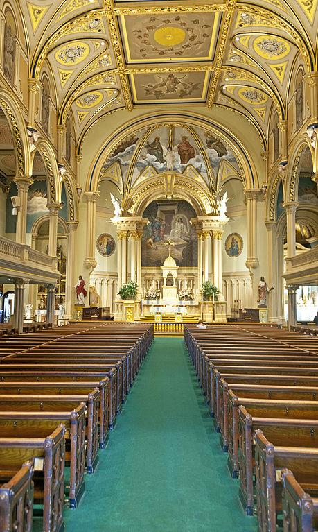 File:Interior of St Mary's Church, Albany, NY.jpg ...
