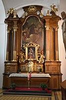 Interior of the Church of the Finding of the True Cross (Brno) 10.jpg
