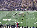 Iowa vs. Michigan football 2012 08 (Michigan on offense).jpg