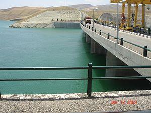 Iran–Turkmenistan Friendship Dam - Image: Iran–Turkmenistan Friendship Dam