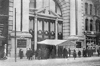 Iroquois Theatre fire A fire in a Chicago theater in 1903