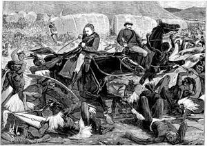 Frederic Thesiger, 2nd Baron Chelmsford - Defeat at Isandlwana