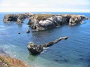 Islands off Mendocino