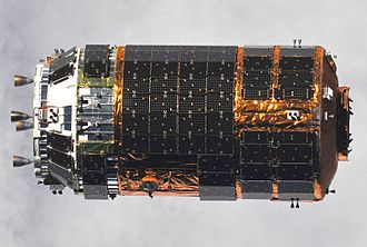H-II Transfer Vehicle - H-II Transfer Vehicle (HTV-1) approaching the ISS