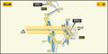 Issha station map Nagoya subway's Higashiyama line 2009.png
