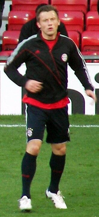 Ivica Olić - Olić with Bayern.