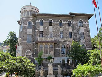 Izmir Ethnography Museum - The Izmir Ethnography Museum.