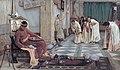 J. W. Waterhouse - The favourites of the Emperor Honorius - Google Art ProjectFXD.jpg