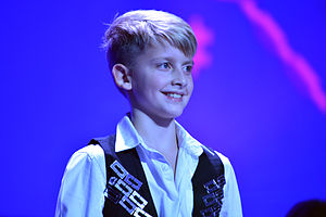 Belarus in the Junior Eurovision Song Contest - Ilya Volkov at Junior Eurovision Song Contest 2013, Kiev.