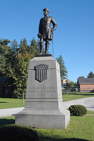 John Quincy Adams Ward - Image: JF Reynolds GB3