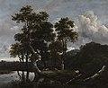 Jacob Isaackszoon van Ruisdael - Grosse Baumgruppe am Wasser - 2565 - Staatliche Kunsthalle Karlsruhe.jpg