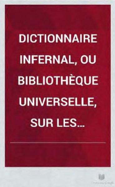 File:Jacques Collin de Plancy - Dictionnaire infernal-1826-Planches.djvu