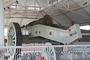 Jaivana - The cannon from the rear