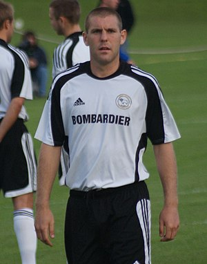 Jake Buxton - Buxton playing for Derby county in 2009