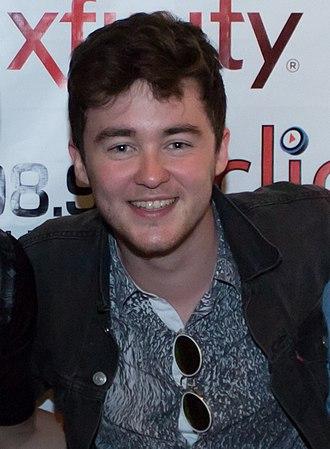 Jake Roche - Roche at the Click 98.9 New Artist Showcase, in August 2014.