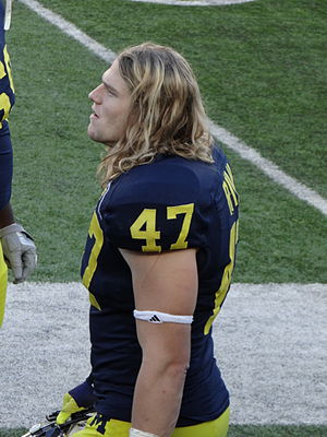 Jake Ryan - Ryan with Michigan in 2012