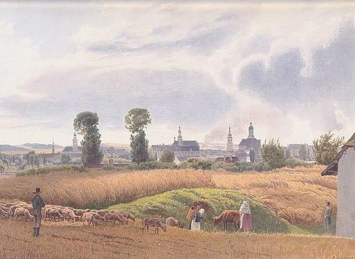 Jakob Alt - Blick auf Troppau