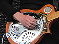 James' Larry Gott's electric dobro - Coachella 2012 Weekend 1, Day 1, Indio, CA (2012-04-13 00.00.24 by Rock Cousteau).jpg