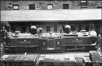 Ffestiniog Railway - Double Fairlie locomotive James Spooner.