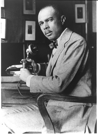Passing (racial identity) - James Weldon Johnson, author of the Autobiography of an Ex-Colored Man